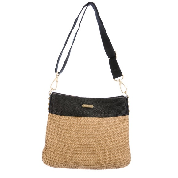Eric Javits Handbags - Eric Javitz Woven Straw Crossbody Bag